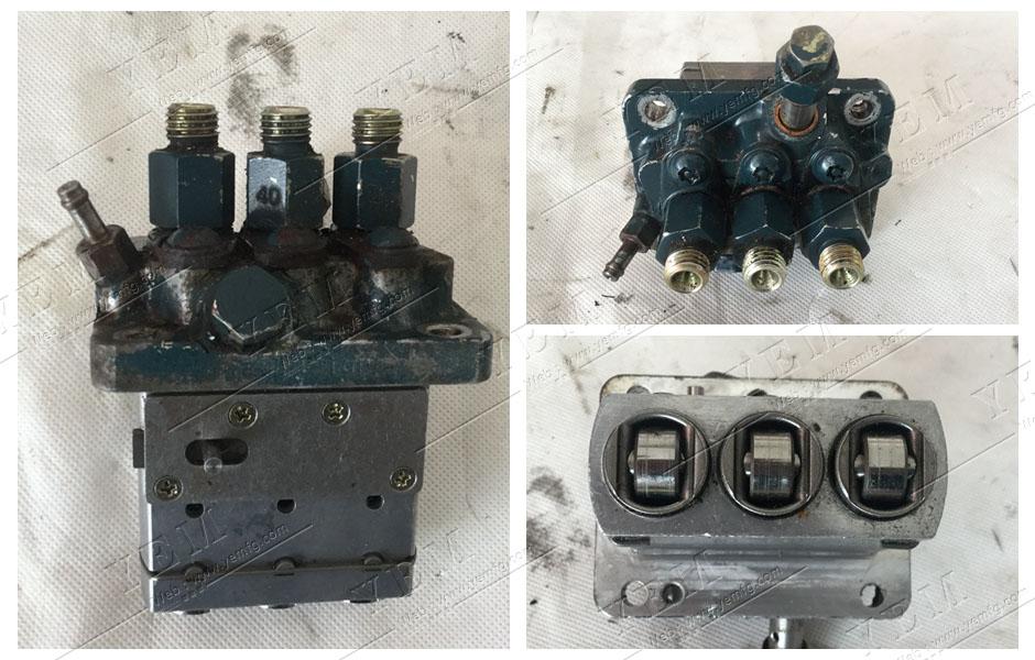 Kubota d905 Manual heat exchanger